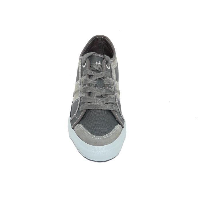 été TBS toiles homme gris Chaussures qgOxw0X