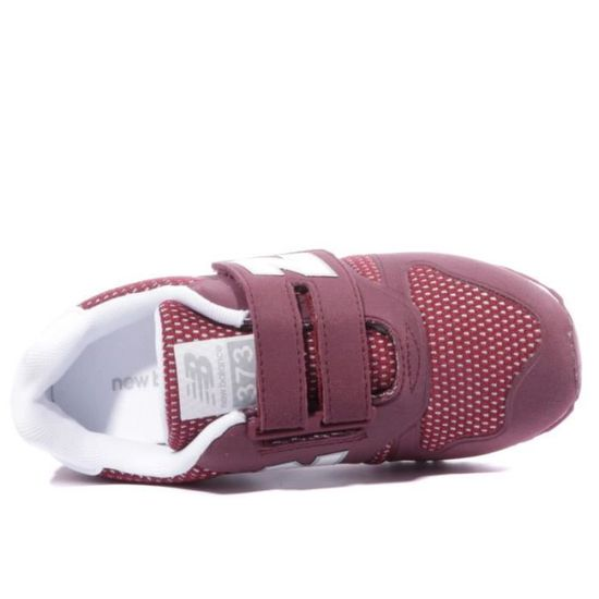 moins cher 6faf9 d27be KA373 Fille Chaussures Bordeaux New Balance Rouge Rouge ...