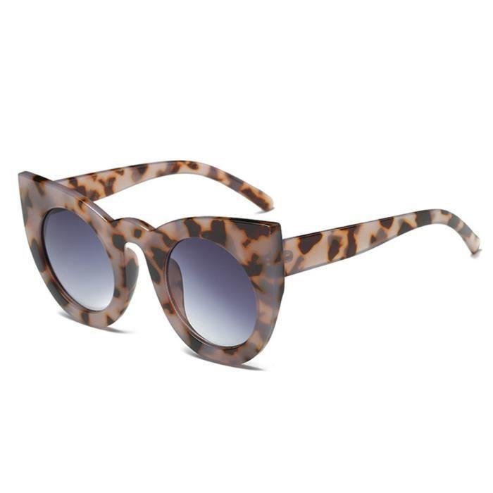optiques Lunettes de Femmes Lunette Grand Brun Cadre de verres soleil Mode xFZ07ww