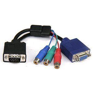 CÂBLE AUDIO VIDÉO CABLING® Câble VGA15MF + 3 x RCA