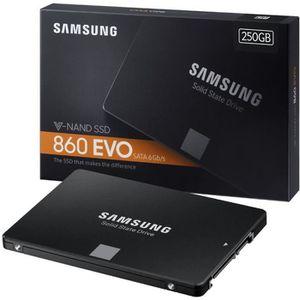 DISQUE DUR SSD SAMSUNG SSD interne 860 EVO - 250Go - Format 2.5