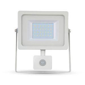 PROJECTEUR EXTÉRIEUR Projecteur LED blanc 30W blanc froid détecteur de