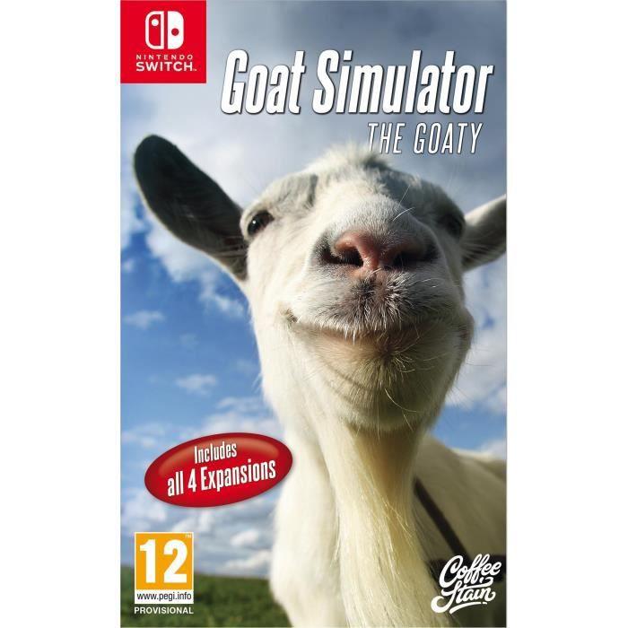JEU NINTENDO SWITCH GOAT Similator : The Goaty Jeu Switch