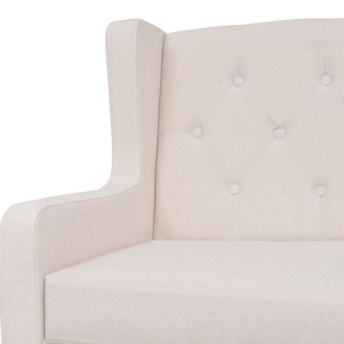 Kkmaison Ou En Blanc La Pour Télévision Fauteuil Relax Tissu LireRegarder Crème Relaxition mN8n0Oyvw