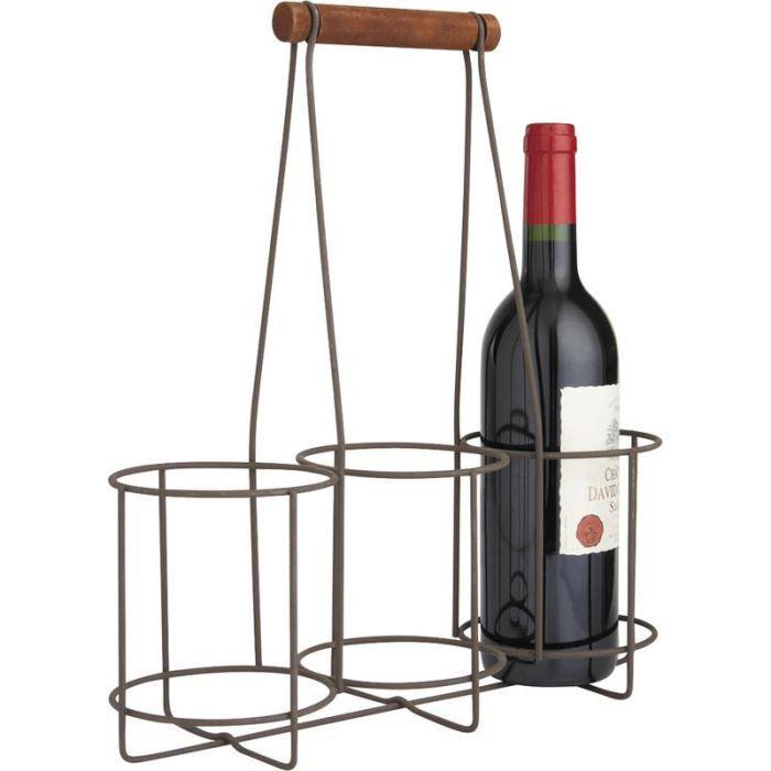 panier porte bouteille achat vente panier porte bouteille pas cher cdiscount. Black Bedroom Furniture Sets. Home Design Ideas