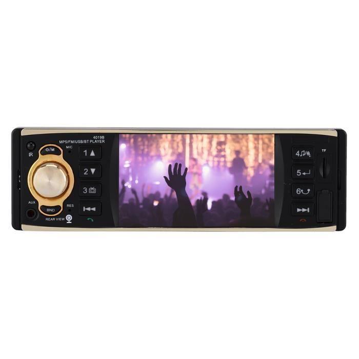 LECTEUR DVD Lecteur stéréo audio automatique de voiture 4.1in