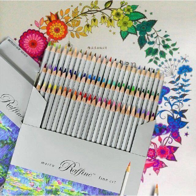 Crayon De Couleur Adulte Professionnels Dessin Crayon Stylos 72