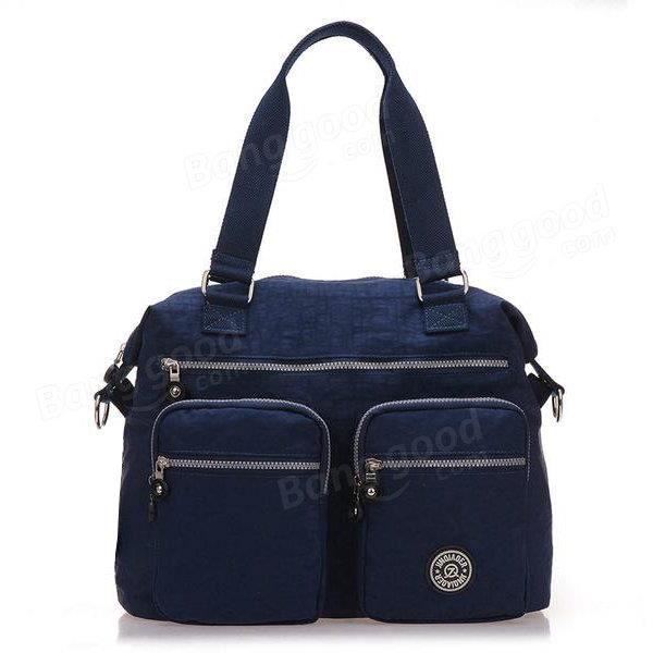 SBBKO1415Femmes sacs à main en nylon occasionnels sacs à bandoulière imperméable poche multiples crossbody extérieure sacs Bleu