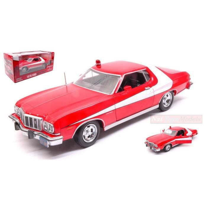 greenlight green84042 ford gran torino 1976 starsky hutch 1 24 die cast achat vente. Black Bedroom Furniture Sets. Home Design Ideas