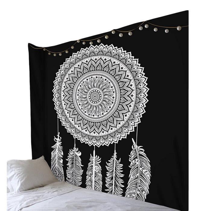 Couverture De Yoga Tapisserie Murale Mandala Suspendue Serviette De