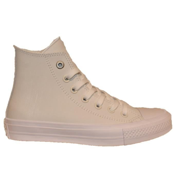 1 2 Ll Hi white H1qt5 Star Chuck Converse White Women's Ii 40 gum Taylor All Taille WDIE2H9