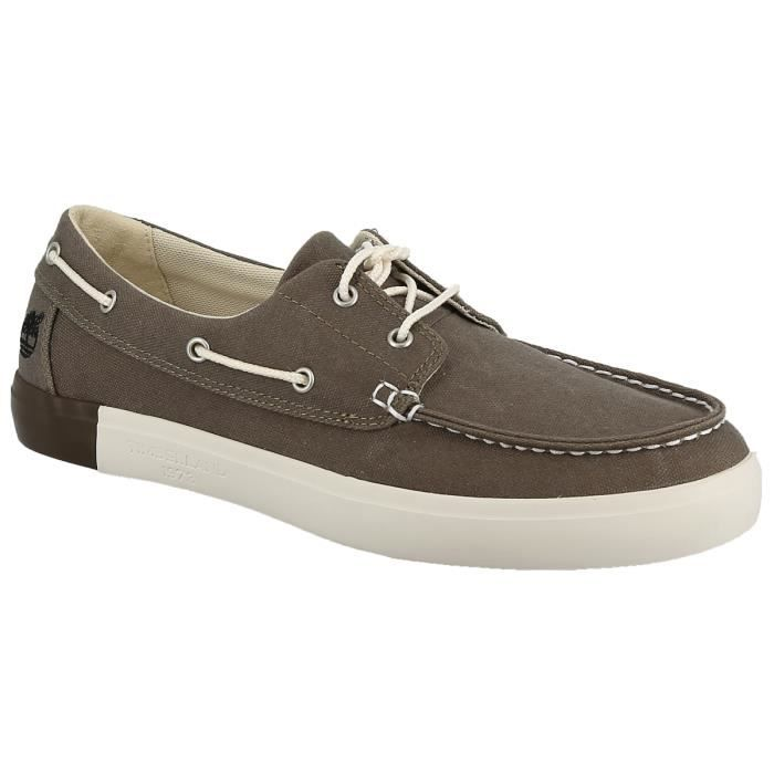 Chaussures bateau - TIMBERLAND NEWPORT BAY 43 Taupe
