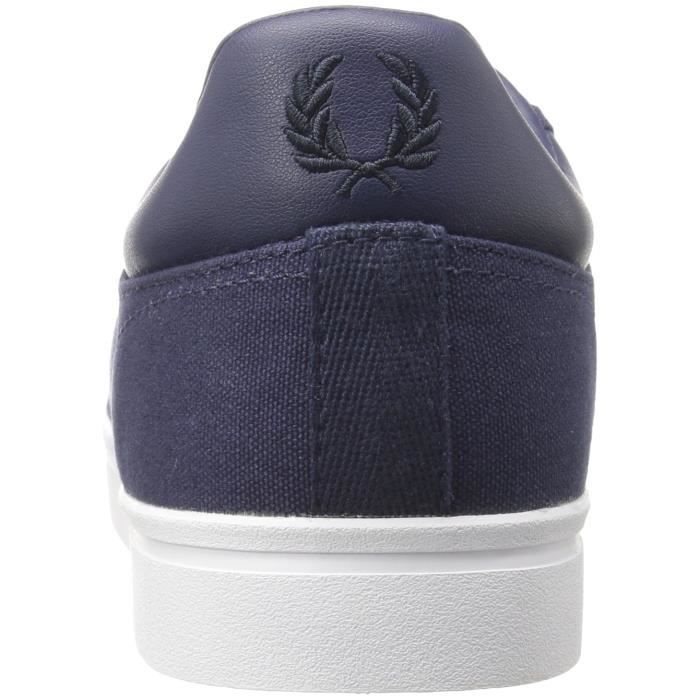 Fred Perry Sidespin Toile Sneaker Mode VJ994 Taille-46