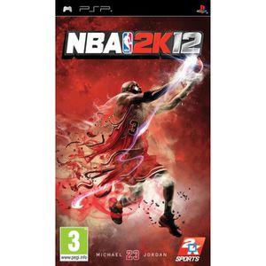 JEU PSP NBA 2K12 / Jeu console PSP