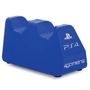 CHARGEUR CONSOLE Chargeur et support Bleus pour PS4