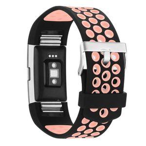 BRACELET MONTRE CONNEC. AIBEIER® Bracelet de montre pour Fitbit Charge 2 f