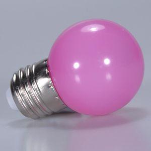 AMPOULE - LED 1pc Ampoule LED Lampe Éclairage E27 9W Rose Décora