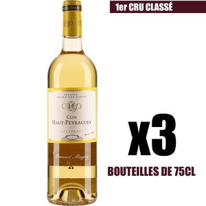VIN BLANC X3 Clos Haut-Peyraguey 2012 75 cl AOC Sauternes 1e