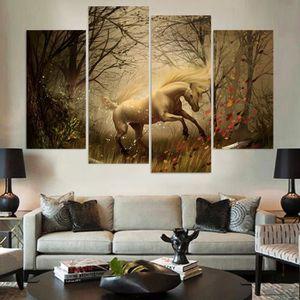 Poster licorne achat vente poster licorne pas cher for Decoration murale licorne