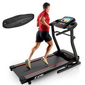 Tapis De Course F26 Appareil Fitness Cardio Marche Ecran Lcd