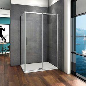 Porte coulissante douche 120 achat vente pas cher - Porte douche pas cher ...