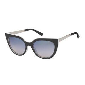 LUNETTES DE SOLEIL Lunettes Girly-7851 noir, verre effet miroir bleu c0955d38a72e