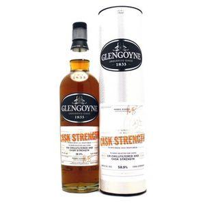 WHISKY BOURBON SCOTCH GLENGOYNE Cask Strength