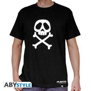 T-SHIRT ALBATOR - Tshirt Emblème homme MC black - basic (X