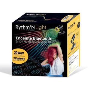 ENCEINTE NOMADE Enceinte Bluetooth 20 W avec projecteur de lumière
