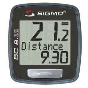 COMPTEUR POUR CYCLE Compteur vélo Sigma BC 8.12 (fil)