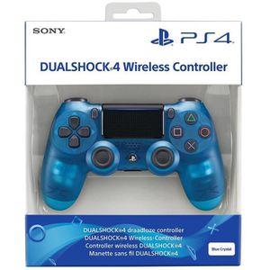 MANETTE JEUX VIDÉO Manette DualShock 4 V2 Bleue + 2 Boutons Thumbstic