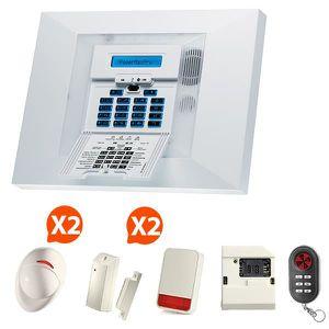 ALARME AUTONOME Visonic - Alarme maison GSM PowerMax Pro Kit 7+