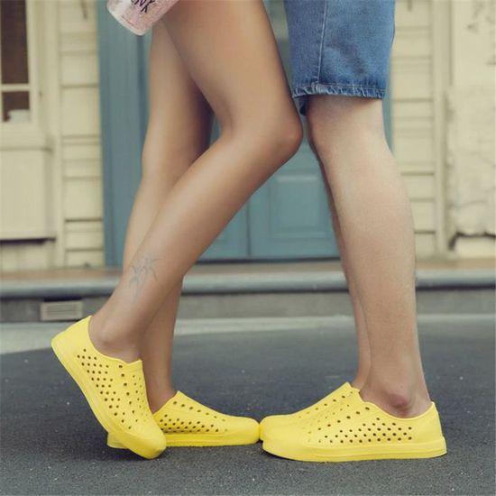 Sabot Homme Chaussures Poids Meilleure Qualité Fond plat Poids Chaussures Léger Durable Résistantes à l'usure Jaune Jaune - Achat / Vente slip-on 16aec7