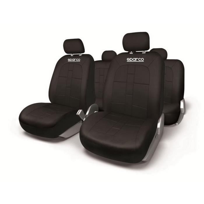 SPARCO Housses de sièges universelles - Noir