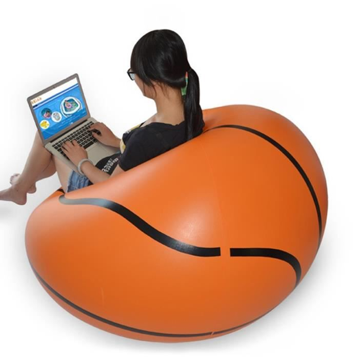 Chaise Canape Gonflable Basketball Self Bean Bag Portable Jardin D Exterieur Canape D Angle Mobilier De Salon