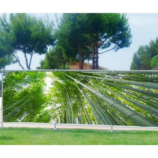 Brise vue, jardin, terrasse, balcon déco Bambous Occultation - 80 ...