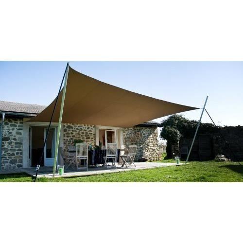 voile d 39 ombrage losange 3 5 x 3 5 x 4 5 x 4 5 m achat vente voile d 39 ombrage voile d 39 ombrage. Black Bedroom Furniture Sets. Home Design Ideas