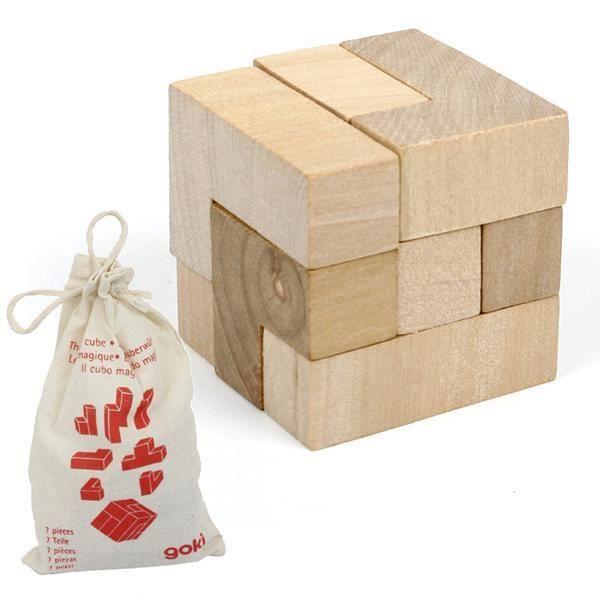 jeux de patience casse tete cube 7 pcs dans sac achat vente casse t te cdiscount. Black Bedroom Furniture Sets. Home Design Ideas