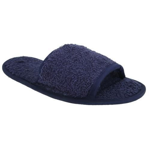 Towel City - Chaussons classiques - Unisexe Ble... fASsbz