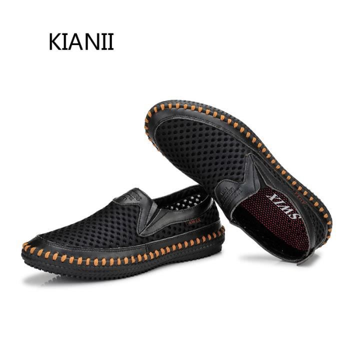 Chaussure Homme Basket creuses respirant