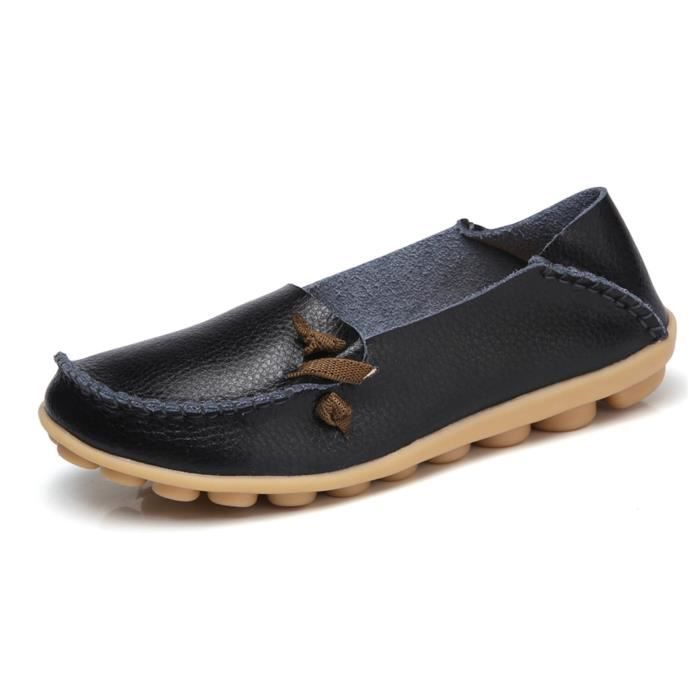 Comfort Walking Cute Flat Loafer IN4EY Taille-39