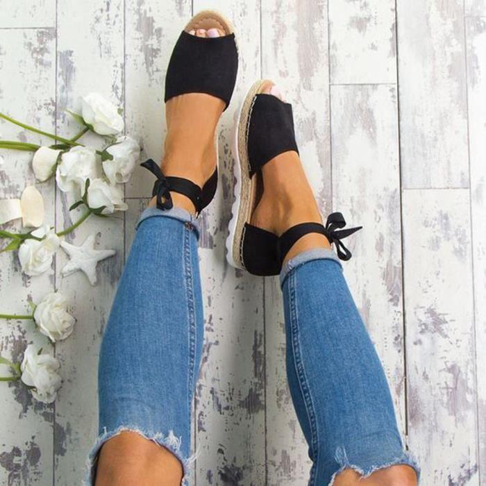 Promotions : Espadrilles Femme   Sandales, Chaussures Plates