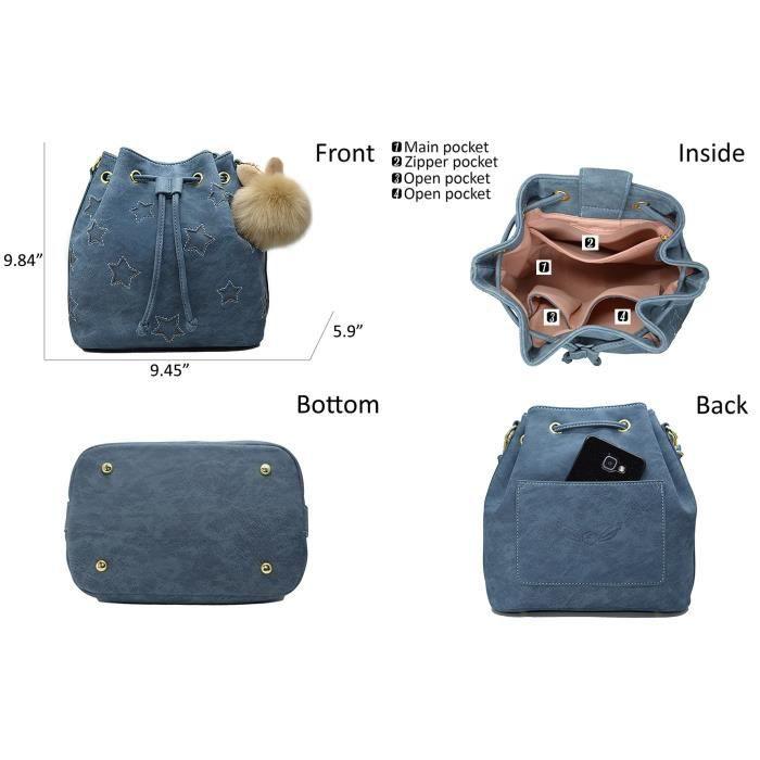 Sacs à main-Sacs à bandoulière porte-monnaie avec mignon Furry par I028C