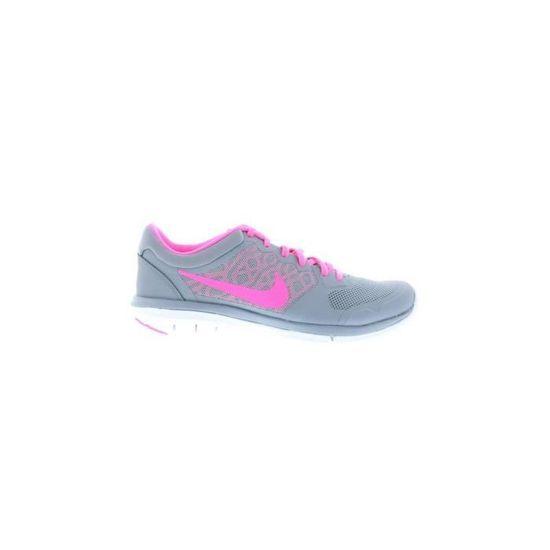 premium selection 86191 980c6 Nike - Nike Wmns Flex 2015 Rn Chaussures de Sport pour Femme Gris Cuir  Toile 709021 Gris Gris - Achat   Vente chaussures multisport - Cdiscount