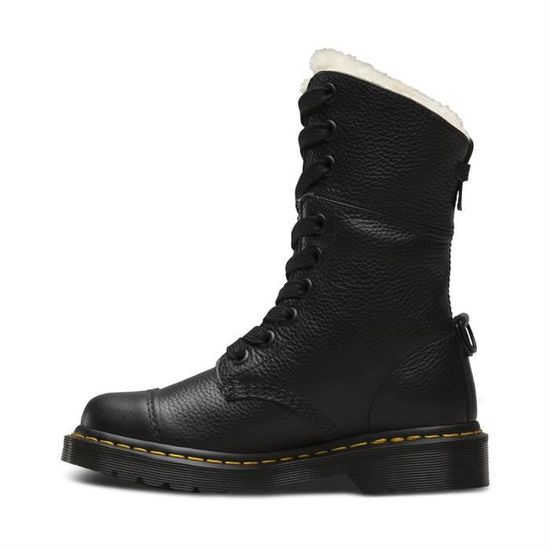 6c59eda2273 Bottines   low boots aimilita fl femme dr.martens aimilita fl Noir Noir -  Achat   Vente bottine - Cdiscount