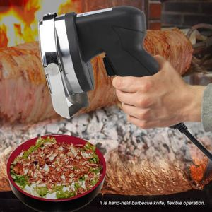 Machine à kébab Couteau électrique Kebab outil de tranchage de via
