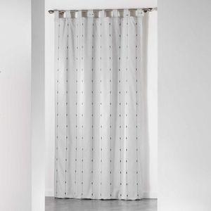 RIDEAU CDaffaires Rideau a passants 140 x 260 cm jacquard