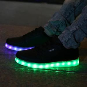 chaussures lumineuses homme