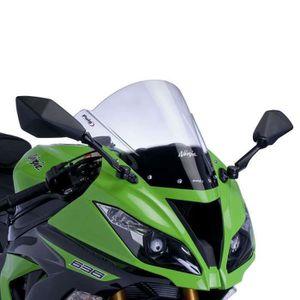 BULLE - SAUTE VENT Bulle Puig RACING (6482) Kawasaki ZX6R 09- ZX10R 0