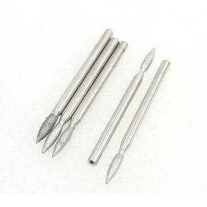 CAROTTEUSE 3mm tige forme flamme 2.6mm pointe de diamant Bu